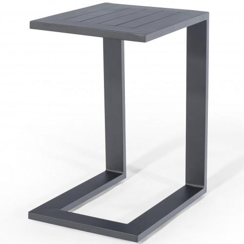 Aluminium Side Table / Grey