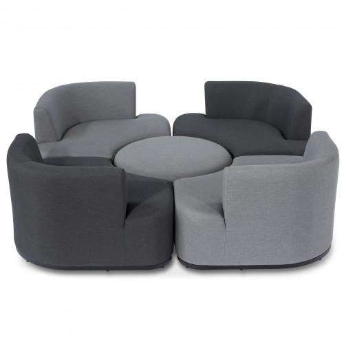 Snug Lifestyle Suite / Flanelle & Charcoal