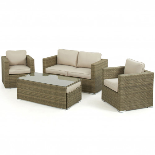 Tuscany 2 Seat Sofa Set / Natural
