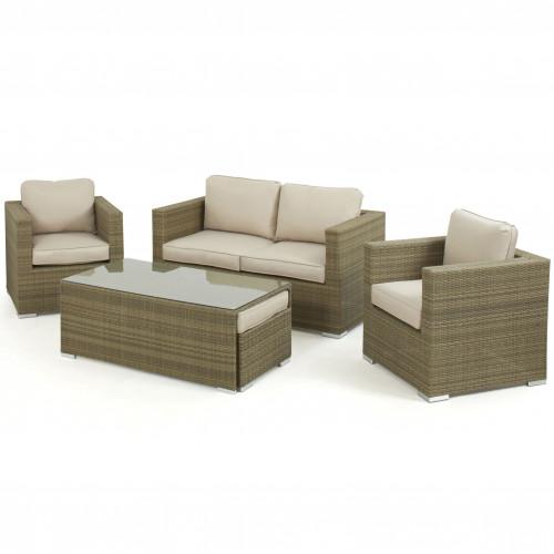 Tuscany 2 Seat Sofa Set / Natural