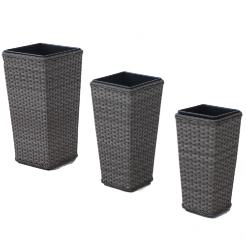 Victoria Planters Tall / Grey