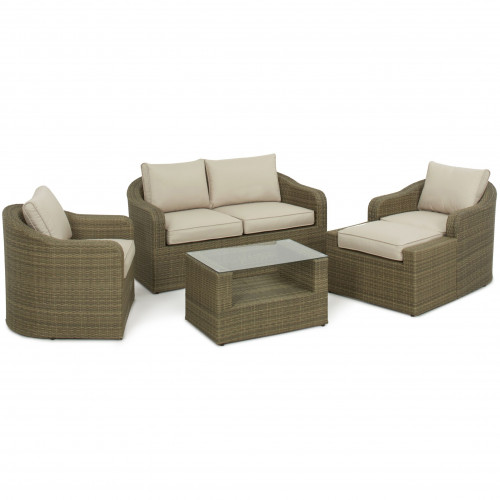Tuscany Washington Sofa Set / Natural