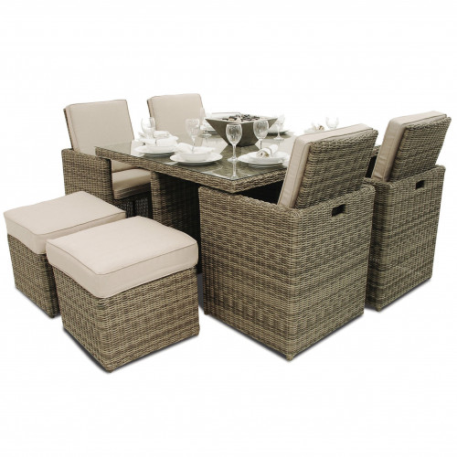 Winchester 5pc Cube with Footstools