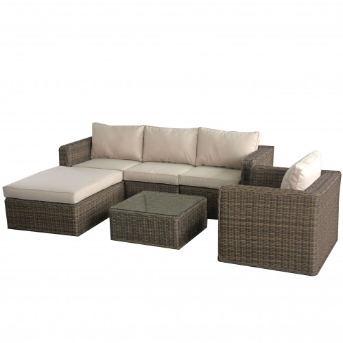 Winchester Chaise Sofa Set