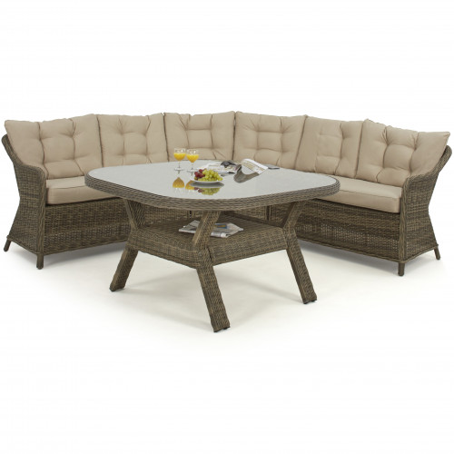 Winchester Rounded Corner Dining Set