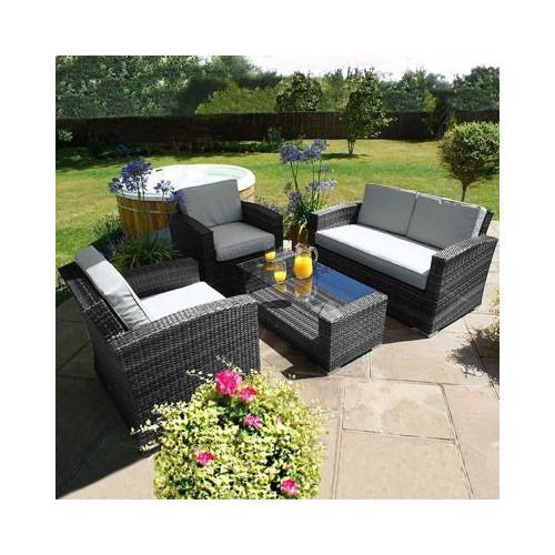 Kingston 2 Seat Sofa Set / Grey