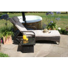 Florida Sunlounger Set / Brown